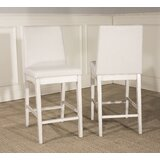 Kinsey Full Back Bar Stool (Set of 2) by Rosecliff Heights