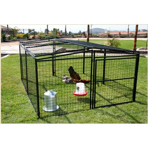 universal welded wire dog penchicken coop
