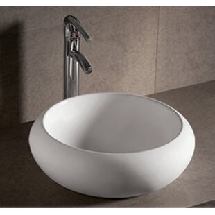 Shopping for Isabella Ceramic Circular Vessel Bathroom Sink By Whitehaus Collection