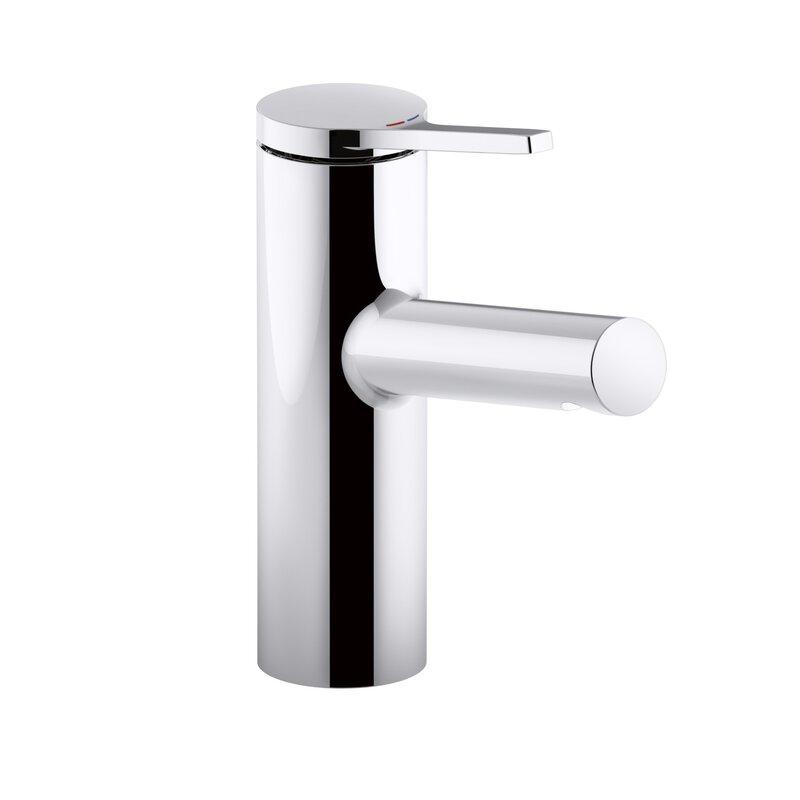 K-99491-4-CP Kohler Elate Single-Handle Bathroom Sink Faucet ...