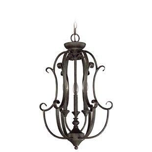 Find the perfect Chalfont 3-Light Foyer Pendant ByFleur De Lis Living