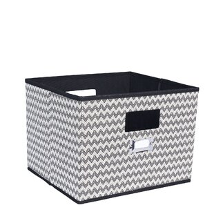 Reviews Deluxe Open Fabric Cubes & Bins By Household Essentials