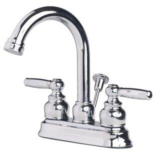 Laguna Brass Centerset Bathroom Faucet with ..