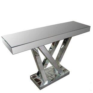 Orren Ellis Yaeger Mirrored Console Table