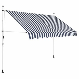 Chaffee W 2.5 X D 1.2m Retractable Patio Awning By Sol 72 Outdoor