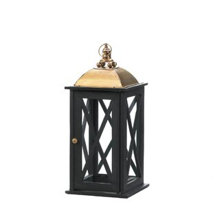 Cristo Wood Lantern by Nik..