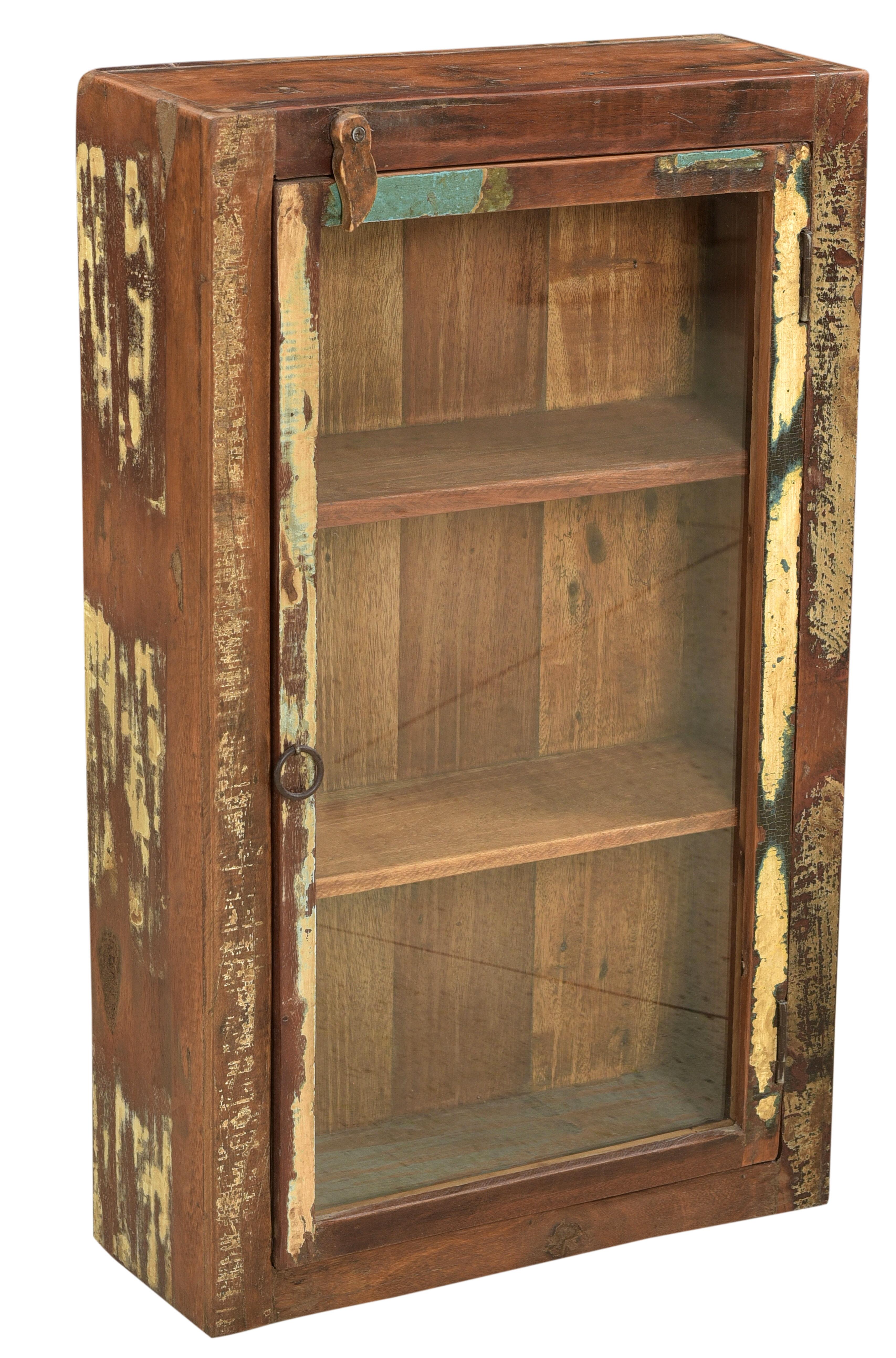 Highland Dunes Deanna Glass Door 16 X 27 Surface Mount Framed Medicine Cabinet Reviews Wayfair