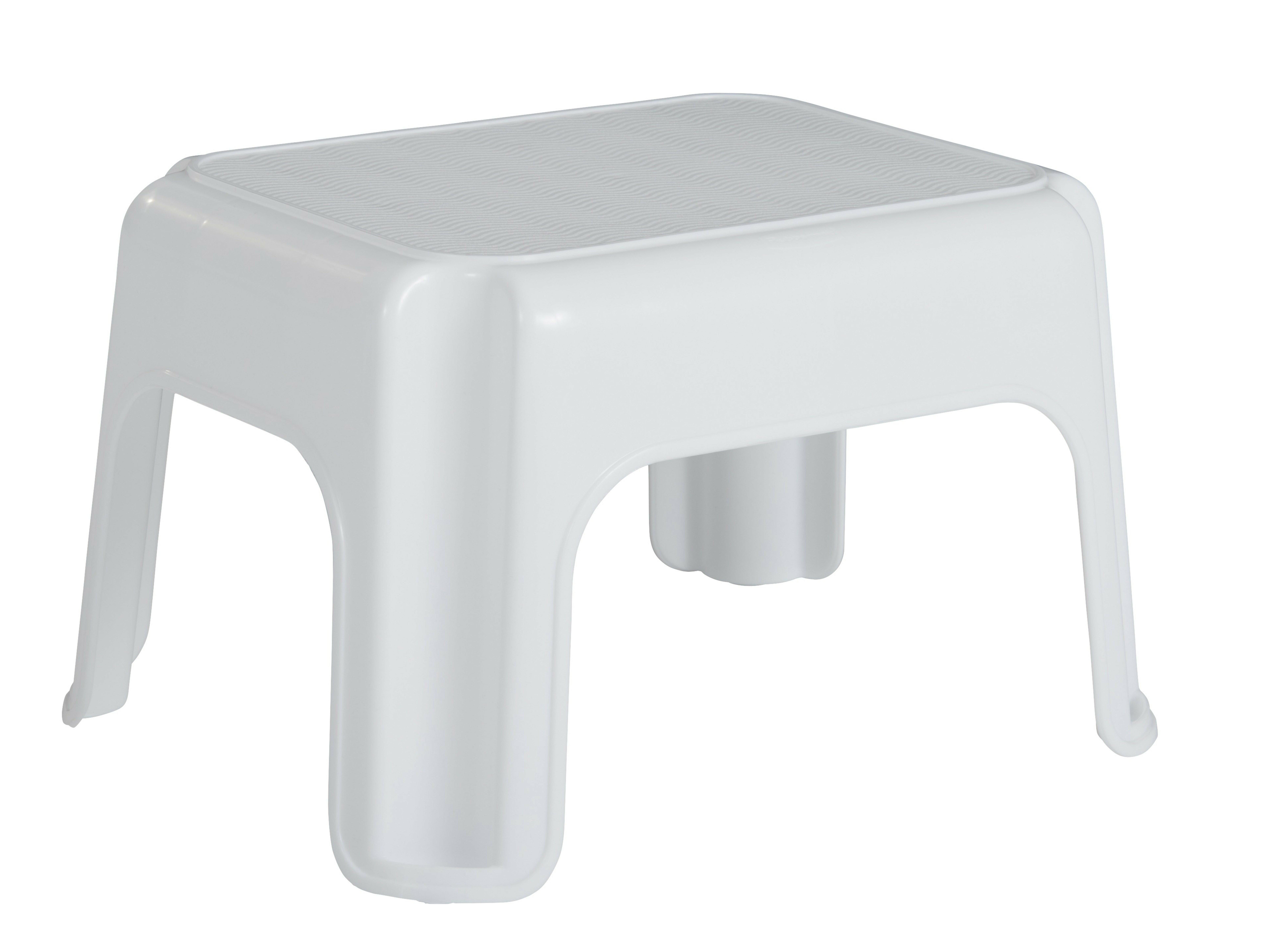 Rubbermaid 1 Step Plastic Step Stool With 300 Lb Load Capacity Wayfair