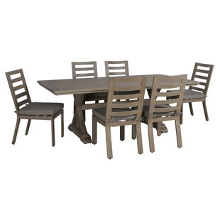 Gracie Oaks Potsdam 7 Piece Dining Set