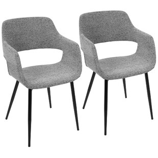 Affordable Price Seal Rock Defazio Arm Chair (Set of 2) by Brayden Studio Reviews (2019) & Buyer's Guide