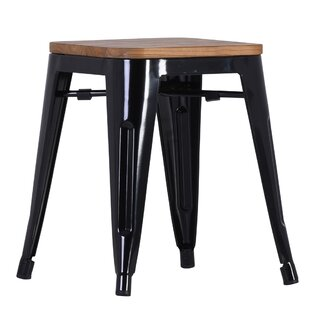 Clintonville 46cm Bar Stool (Set Of 4) By Borough Wharf