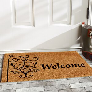 Warrenton Welcome Post Doormat