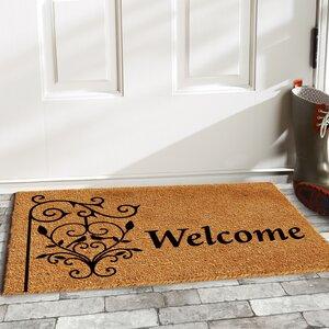 Warrenton Welcome Post Doormat