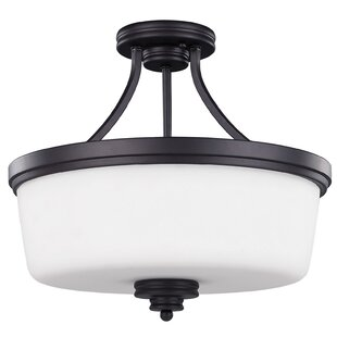 Jackson 3-Light Semi-Flush Mount by Canarm