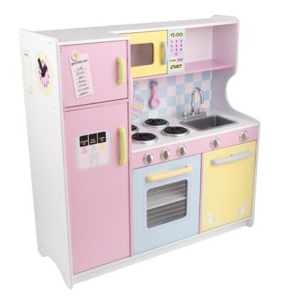 kidkraft pastel kitchen & reviews | wayfair