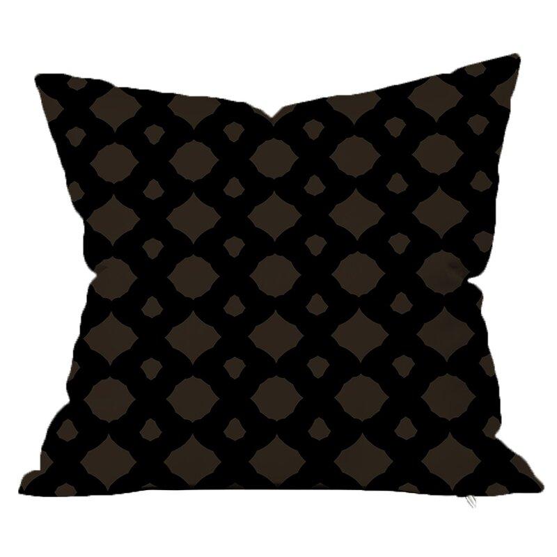 Safiyajamila Infinity Geometric Throw Pillow Wayfair