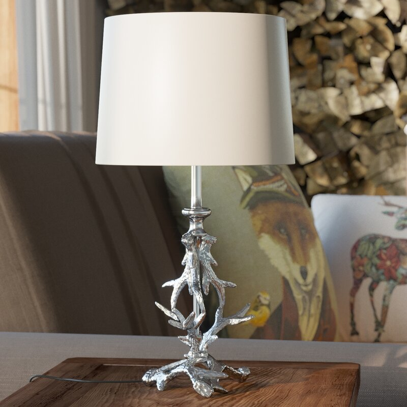 Charlton home alamo antler 42cm table lamp base reviews wayfair alamo antler 42cm table lamp base aloadofball Choice Image