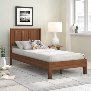 Highwood Deluxe Platform Bed By ClassicLiving