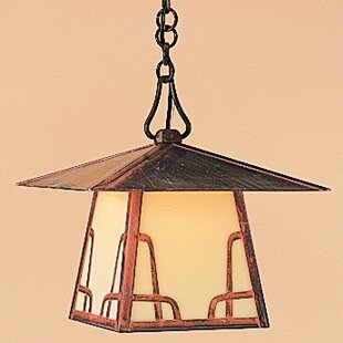 Carmel 1-Light Outdoor Hanging Lantern By Arroyo Craftsman Outdoor Lighting