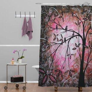 Madart Inc Blossoms Single Shower Curtain
