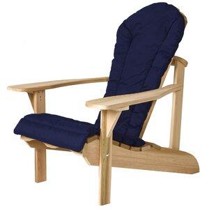 Western Red Cedar Outdoor Adirondack Chair Cushion