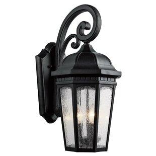 Kichler Courtyard 3-Light Outdoor Wall Lantern