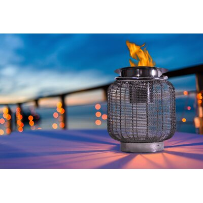 Neptune Metal Lantern Anywhere Fireplace
