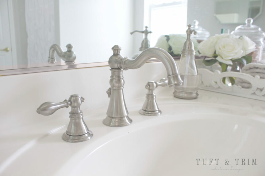 Tuft & Trim bathroom makeover