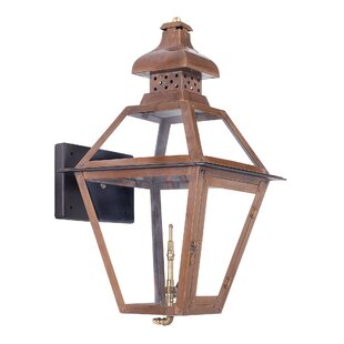Lorrain 1-Light Outdoor Wall Lantern by August Grove