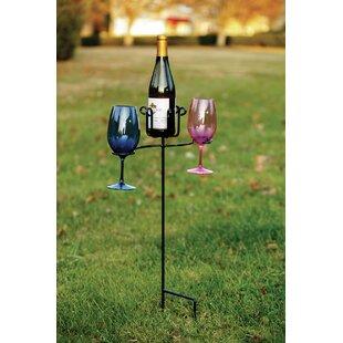 Heuer 1 Bottle Tabletop Wine Glass Rack b..