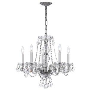 House of Hampton Milan 5-Light Chandelier