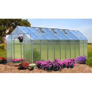 Riverstone Industries Monticello 8 Ft. W x 20 Ft. D Greenhouse