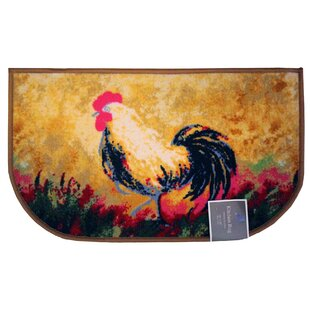 Rooster Kitchen Mat