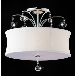 Mclawhorn 5-Light Semi Flush Mount by House of Hampton