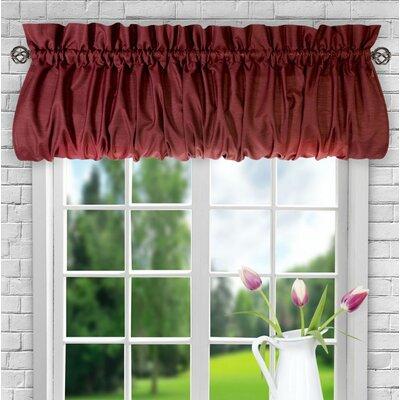 Ellis 60 Balloon Curtain Valance August Grove Color: Merlot
