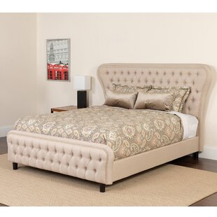 Quijano Tufted Upholstered Platform Bed