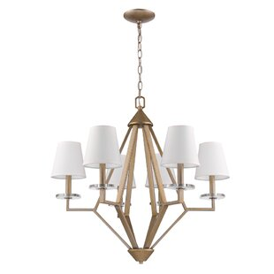 Rosdorf Park Maya 6-Light Shaded Chandelier
