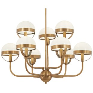 Compare & Buy Philippa 9-Light Shaded Chandelier By Mercer41