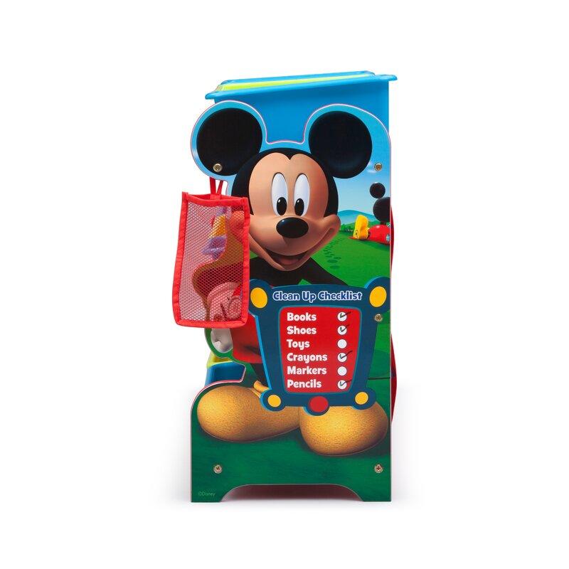 Mickey Mouse 10 Piece Toy Organizer Set