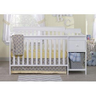 Florence 4-in-1 Convertible Crib and Changer Combo