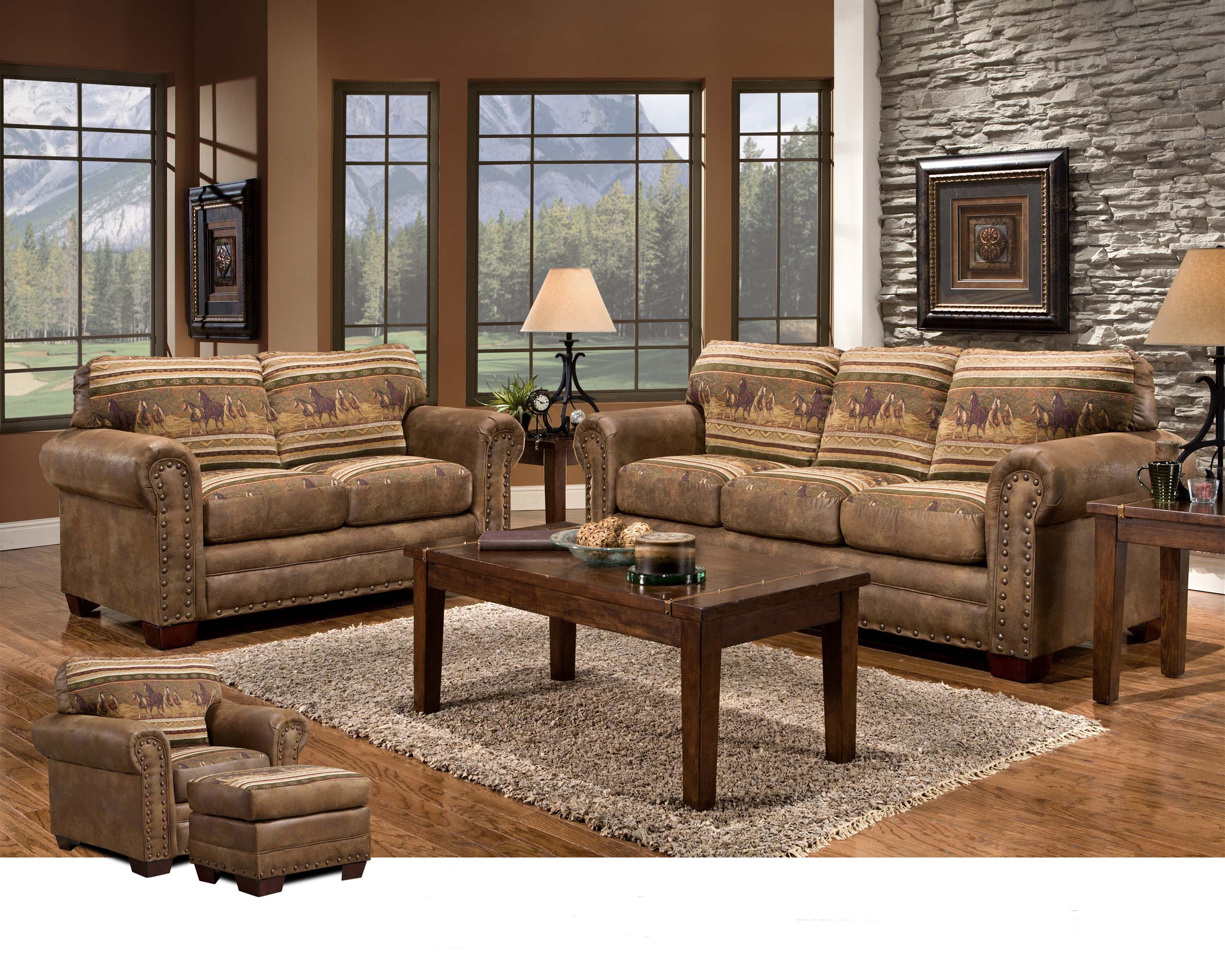 Charlie 8 Piece Sleeper Living Room Set