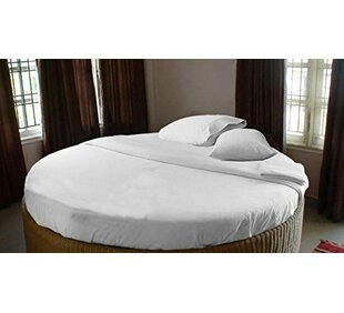 400 Thread Count Egyptian Quality Cotton Round Bed Sheet Set