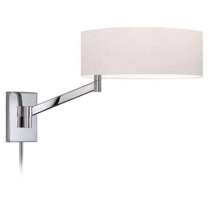 Orren Ellis Amiens 3 Light Plug In Swing Arm Lamp Reviews Wayfair