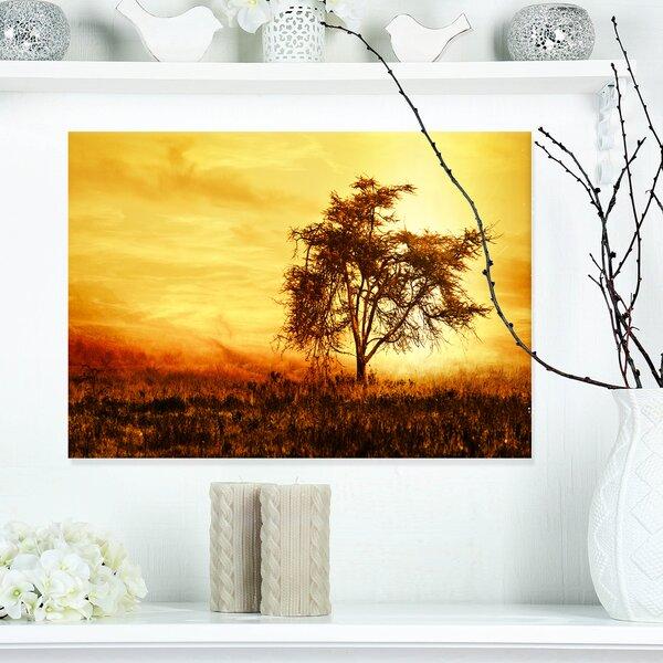 Tree Silhouette Art Wayfair