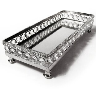 Sparkle Vanity Mirror Tray