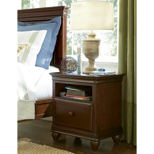 Chassidy 1 Drawer Nightstand by Harriet Bee