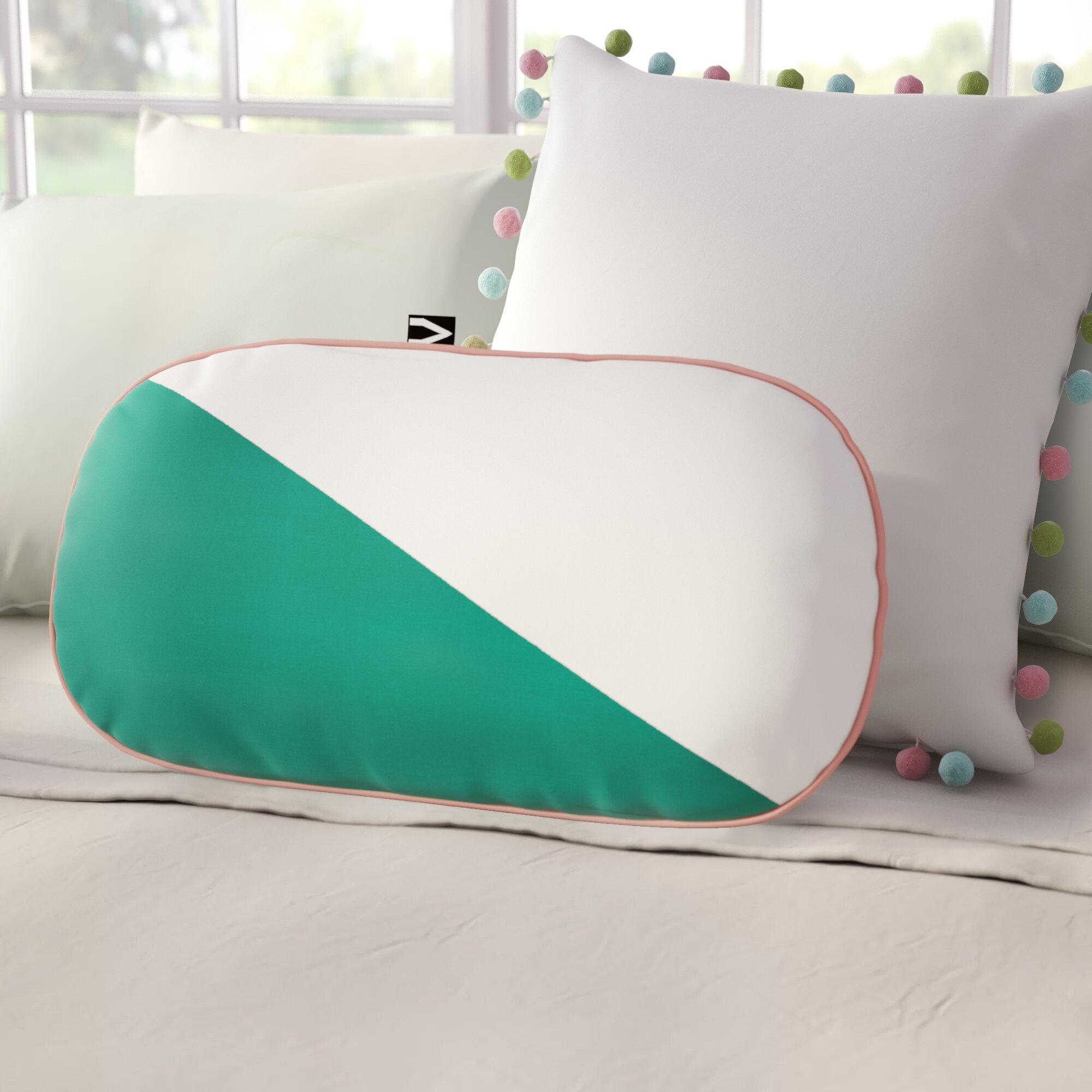 Astounding Gautier Studio Cotton Bolster Pillow Creativecarmelina Interior Chair Design Creativecarmelinacom
