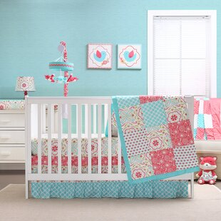 Inexpensive Gia 4 Piece Crib Bedding Set ByThe Peanut Shell