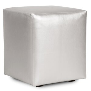 Cherie Shimmer Cube Ottoman by Everly Quinn