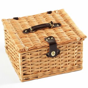 Dorchester Willow Picnic Hamper For Two People By ClassicLiving